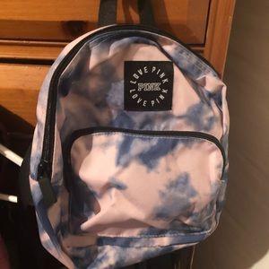 Vs pink back pack mini